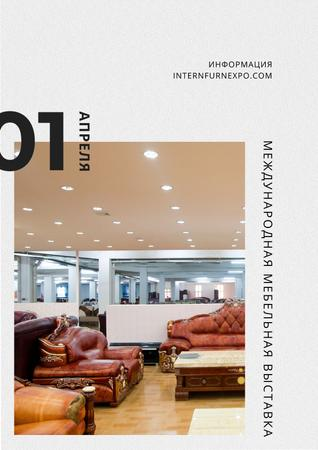 International Furniture Expo Poster – шаблон для дизайна