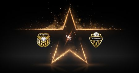 Football Match announcement with Badges Facebook AD – шаблон для дизайна