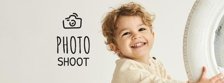 Family Photo shoot offer Facebook cover Tasarım Şablonu