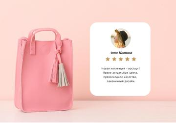 Stylish pink Bag review
