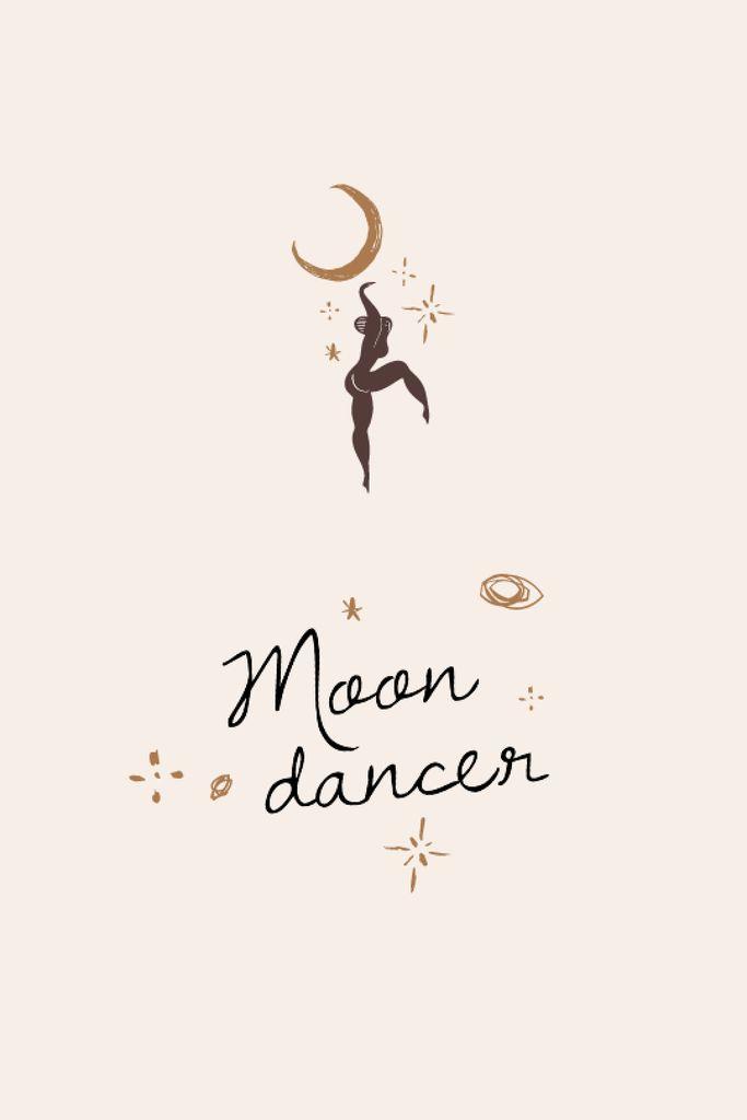 Moon Dancer silhouette — ein Design erstellen