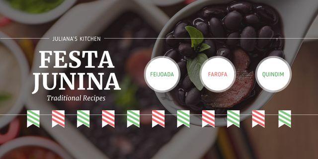Juliana's kitchen on Festa Junina Image – шаблон для дизайна
