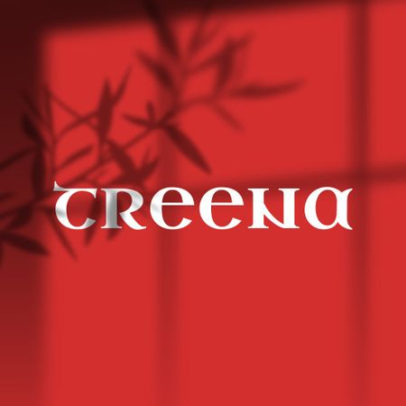 Creative Emblem with Branch Shadow Logo – шаблон для дизайну