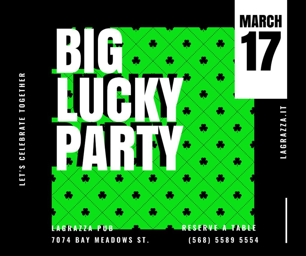 Saint Patrick's Day party invitation — Maak een ontwerp
