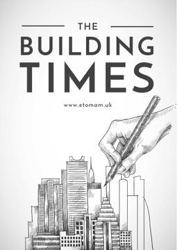 Drawing Buildings illustration