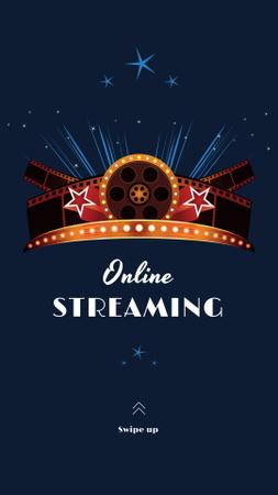 Oscar Event Online Streaming Announcement Instagram Story – шаблон для дизайна