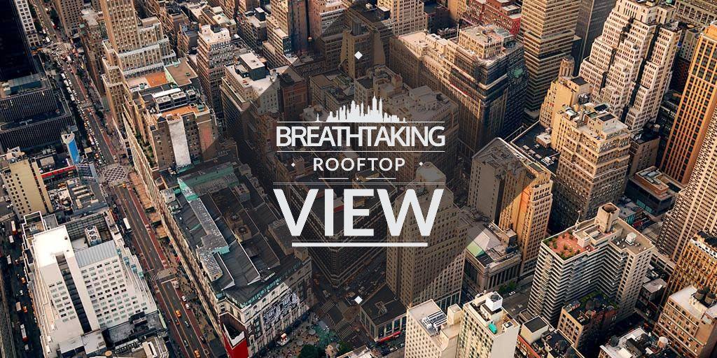 City Guide with Breathtaking Buildings View — Créer un visuel