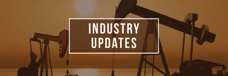 Template di design Industry updates Ad Email header