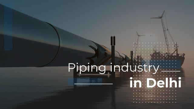 Industrial Pipe in Sea Youtube Thumbnail Design Template
