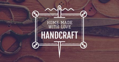 Plantilla de diseño de Advertisement for Store of Handcrafted Goods Facebook AD