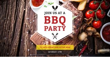 BBQ party Annoucement
