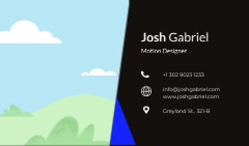 Motion Designer professional contacts