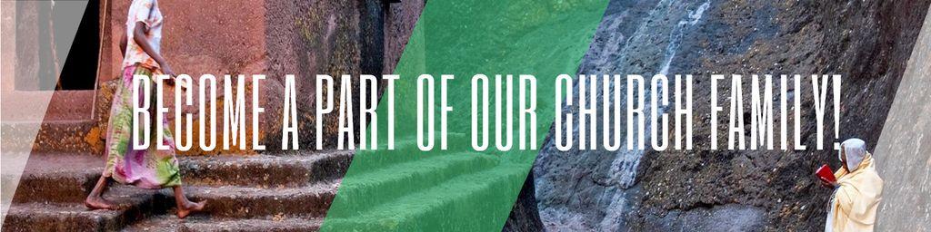 Invitation to church family — Crear un diseño