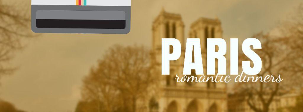 Tour Invitation with Paris Notre-Dame — Modelo de projeto