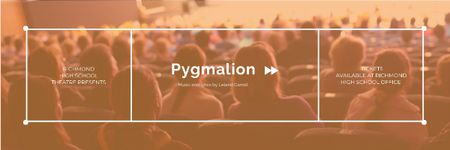 Ontwerpsjabloon van Email header van Pygmalion performance Announcement