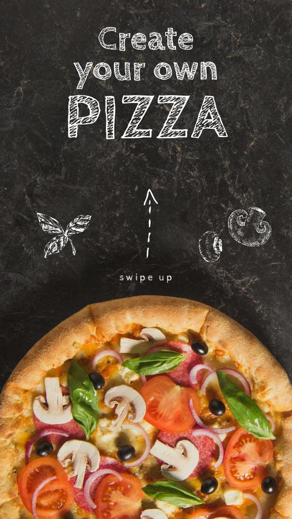 Italian Pizza menu promotion — Modelo de projeto