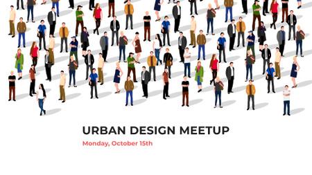 Urban Design Society Ad FB event cover Modelo de Design