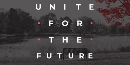 Modèle de visuel Concept of Unite for the future  - Image