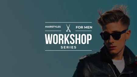 Plantilla de diseño de Rockabilly hairstyles workshop with Stylish Man Youtube