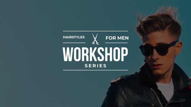 Rockabilly hairstyles workshop with Stylish Man Youtube Tasarım Şablonu