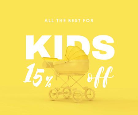 Modèle de visuel Children's Store Special Discount Offer - Facebook
