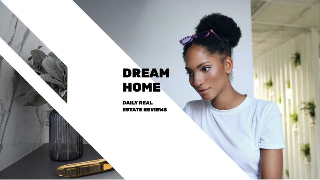 Real Estate Agent at Work — Crear un diseño