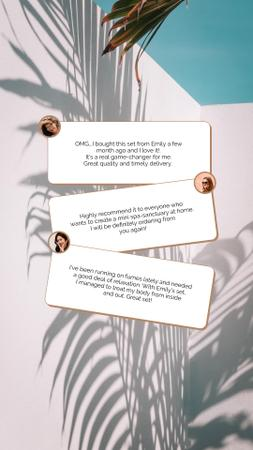 Modèle de visuel Beauty Product Reviews - Instagram Story