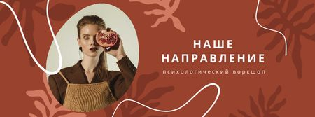 Women's Day Announcement with Stylish Girl Facebook cover – шаблон для дизайна