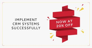 CRM Systems Discount Offer