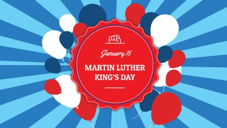 Martin Luther King's Day Event Announcement FB event cover – шаблон для дизайна