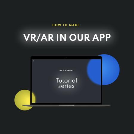 Modèle de visuel App Updates Ad with Laptop Screen - Instagram