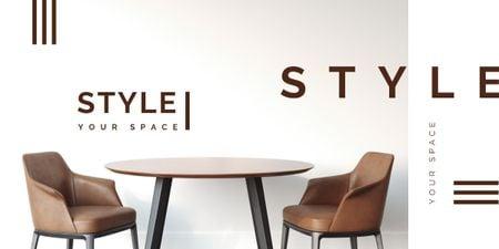 Ontwerpsjabloon van Image van Room with modern furniture