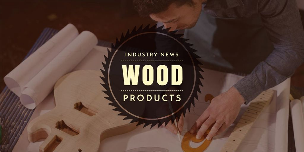 wood products advertisement banner — Crea un design