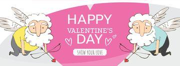 Valentine's Day with funny Elder Cupids
