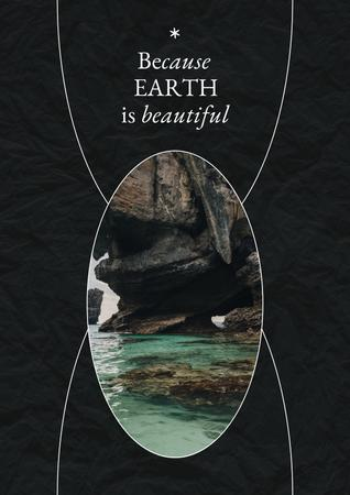 Modèle de visuel Eco Concept with Crystal Water - Poster