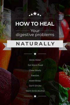 Healing digestive problems with Vegetables