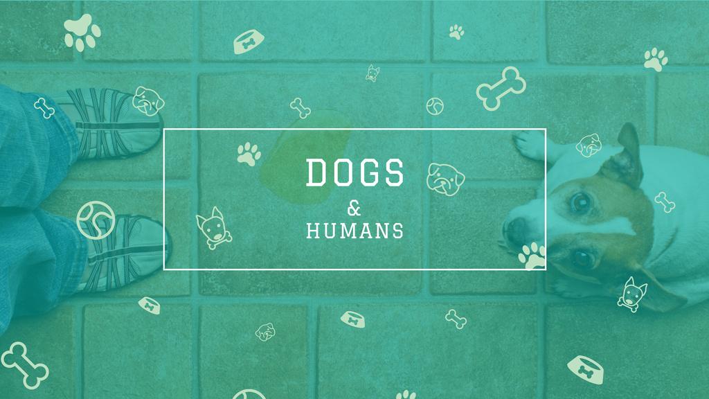 Dogs & Humans poster — Crear un diseño