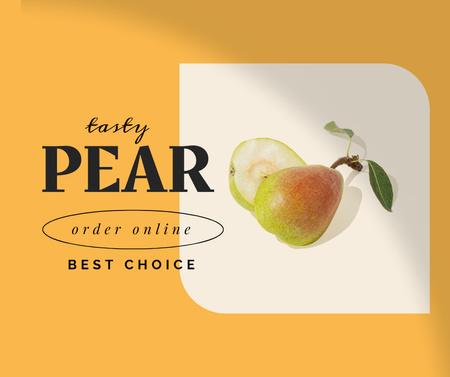 Modèle de visuel Tasty Fresh Pears Sale - Facebook
