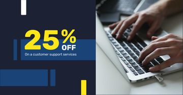 Customer Support Services Discount Offer