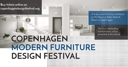 Copenhagen modern furniture design festival Facebook AD Modelo de Design