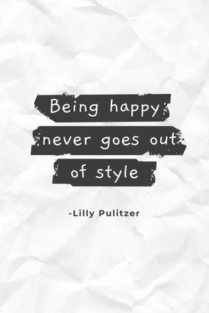 Template di design Imagination Quote on Glitter Pinterest