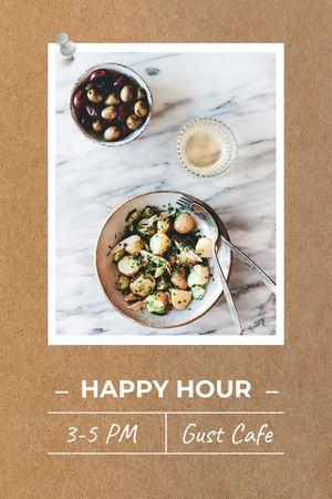 Happy Hour Cafe offer Tumblr tervezősablon