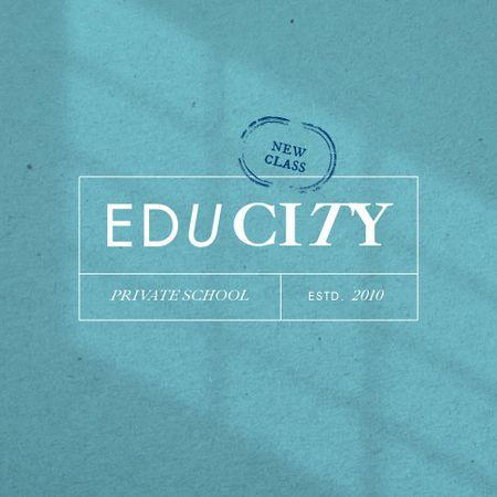 Private School Services Ad Logo – шаблон для дизайну