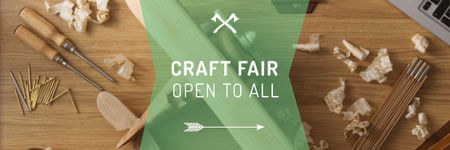 Craft fair in Pittsburgh Email header Design Template