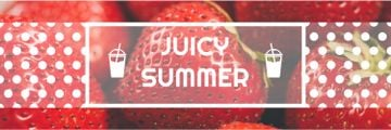 Summer Offer Red Ripe Strawberries