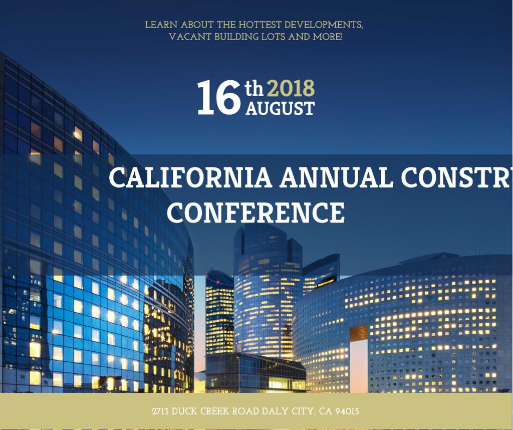 Construction Conference modern Glass Buildings — Crea un design
