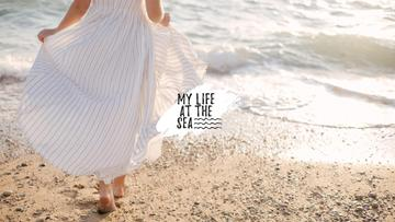 Travel inspiration with Girl by the Sea