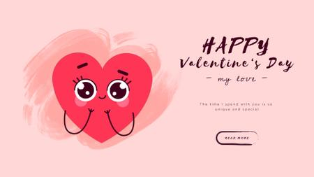 Valentine's Day Loving Hearts Full HD video Modelo de Design