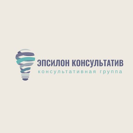 Advisory Company with Lamp Icon Logo – шаблон для дизайна