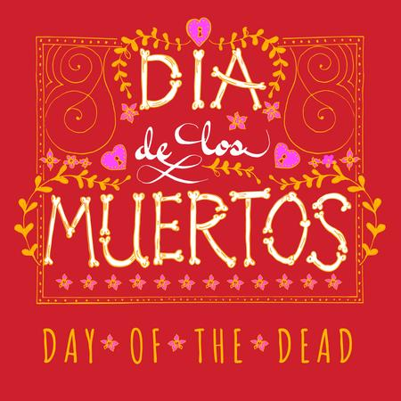 Dia de los Muertos Holiday Bright Announcement Instagram – шаблон для дизайну